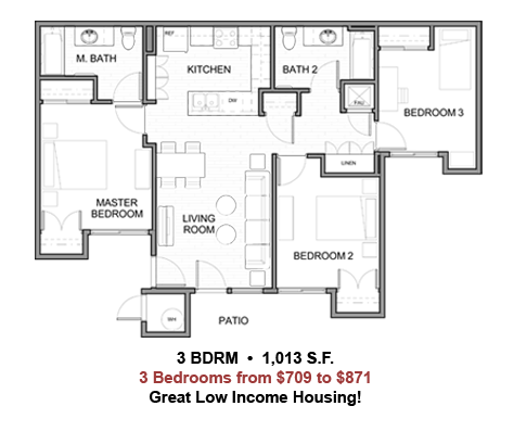 This Is Our Third Floor Plan For Our Low Cost Apartments Located In La Quinta Ca Aren T These Sweet Low Cost Ho Low Cost Housing Floor Plans Apartment Layout