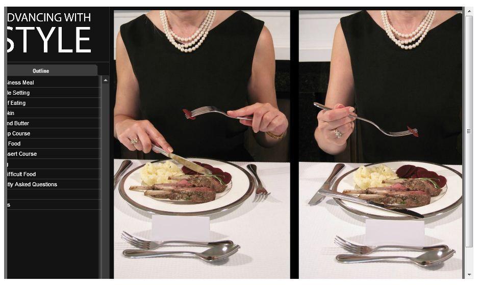 Dining etiquette training course dining etiquette eat
