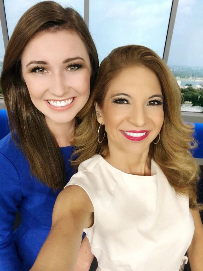 Always a good day when I get to work with Meteorologist Kylie Capps