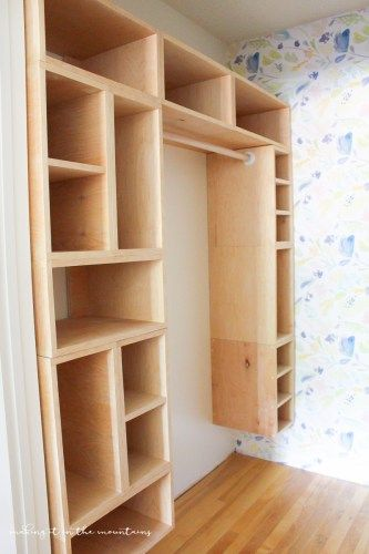 Diy Custom Closet Organizer The Brilliant Box System Making It In The Mountains Diy Custom Closet Wood Closet Shelves Custom Closet Organization