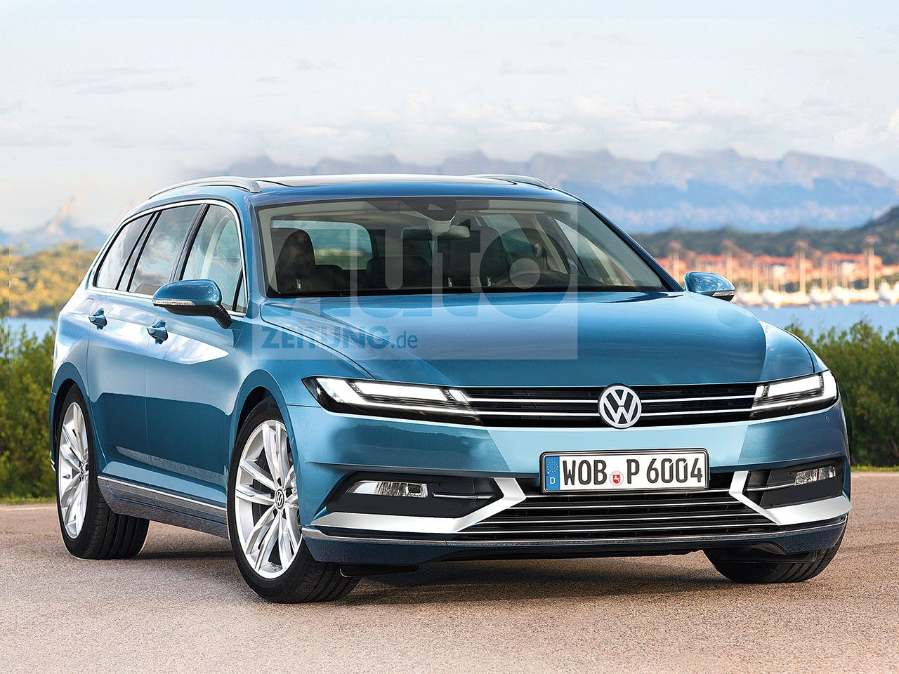Vw Passat Variant B9 2021 Erste Informationen Vw Passat Vw Passat Variant Volkswagen
