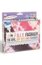 NPW 'D.I.Y. Fashion' Tie Dye, Dip Dye & S - Gift Ideas From Gifts.com