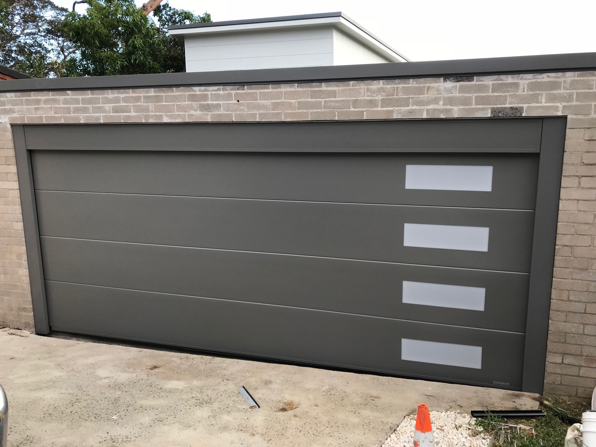 Thermoflat Insulated With Windows Installed By Impact Garage Doors