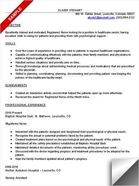 Rn Resume Sample Rn Resume Registered Nurse Resume Nursing Resume