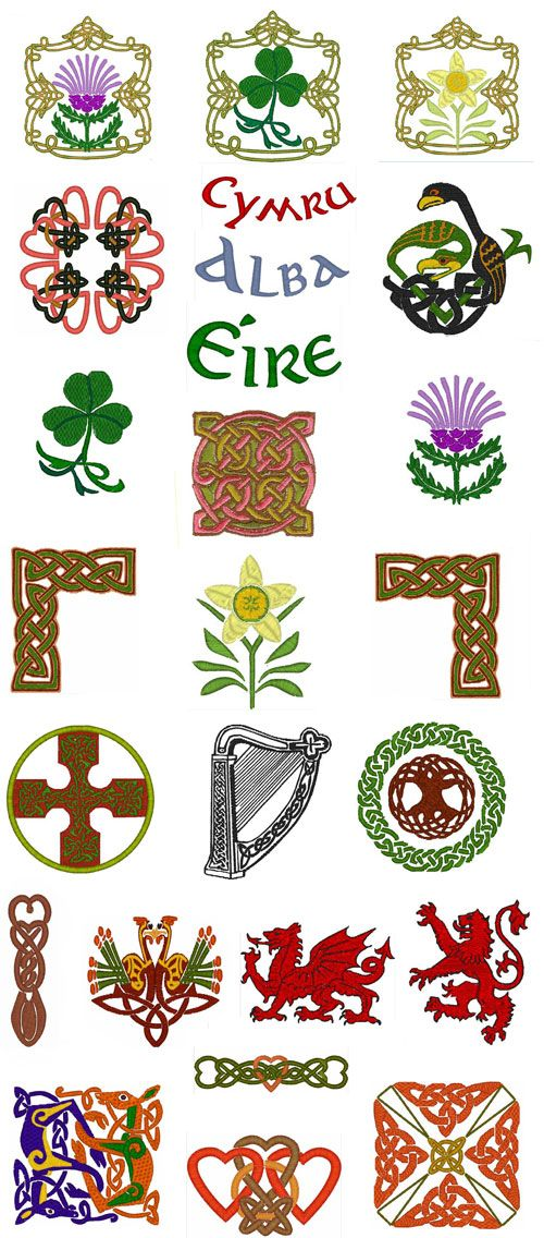 Celtic embroidery designs | Bordado | Pinterest | Celta, Símbolos ...
