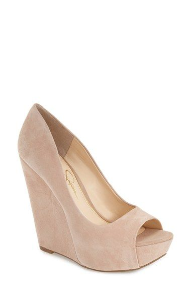 9a9b24f7cf7b Jessica Simpson  Bethani  Wedge Platform Sandal (Women) available at   Nordstrom (but black)