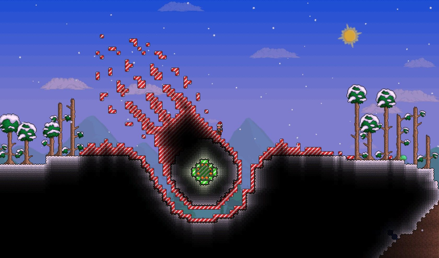 Terraria Online Play For Free At Playminecraftinfo Juegos De - Minecraft terraria spielen