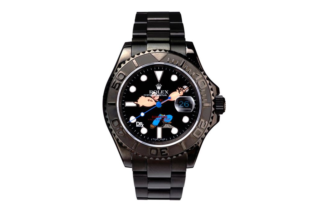 "8c9586bba041 Dr. Romanelli x Bamford Watch Department ""Popeye vs Beetle Bailey"" Rolex  Watches"