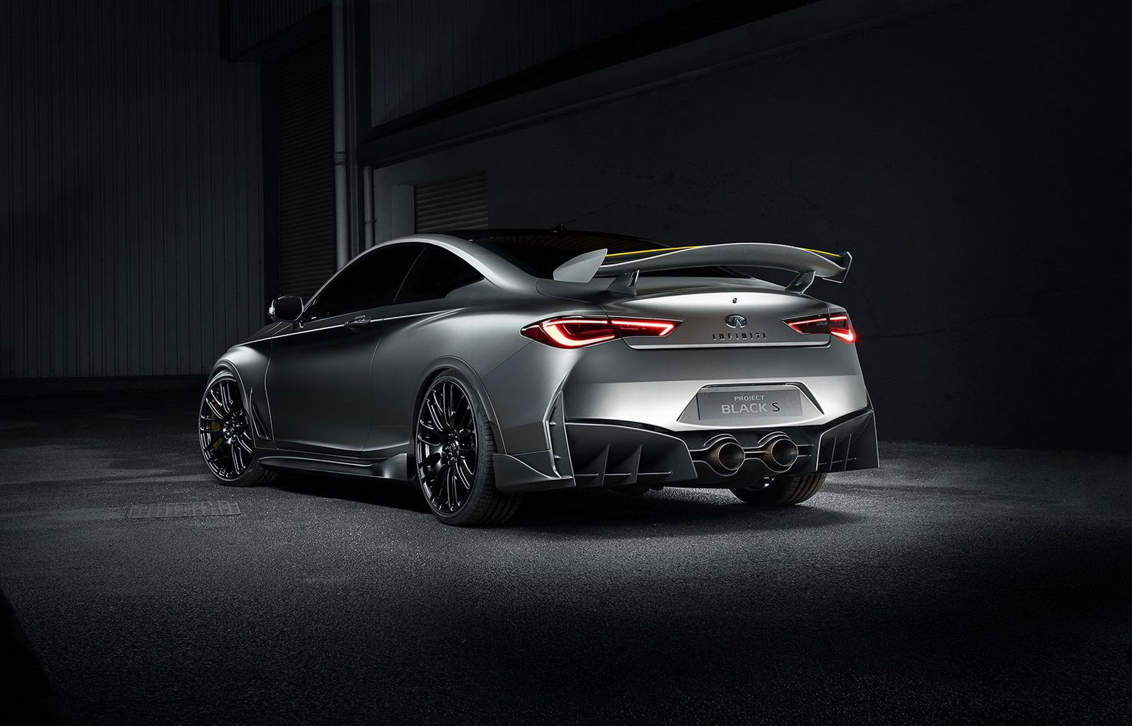 Infiniti Goes Fast N Furious With F1 Style Q60 Black S Hybrid Concept Luxury Hybrid Cars Infiniti Concept Cars
