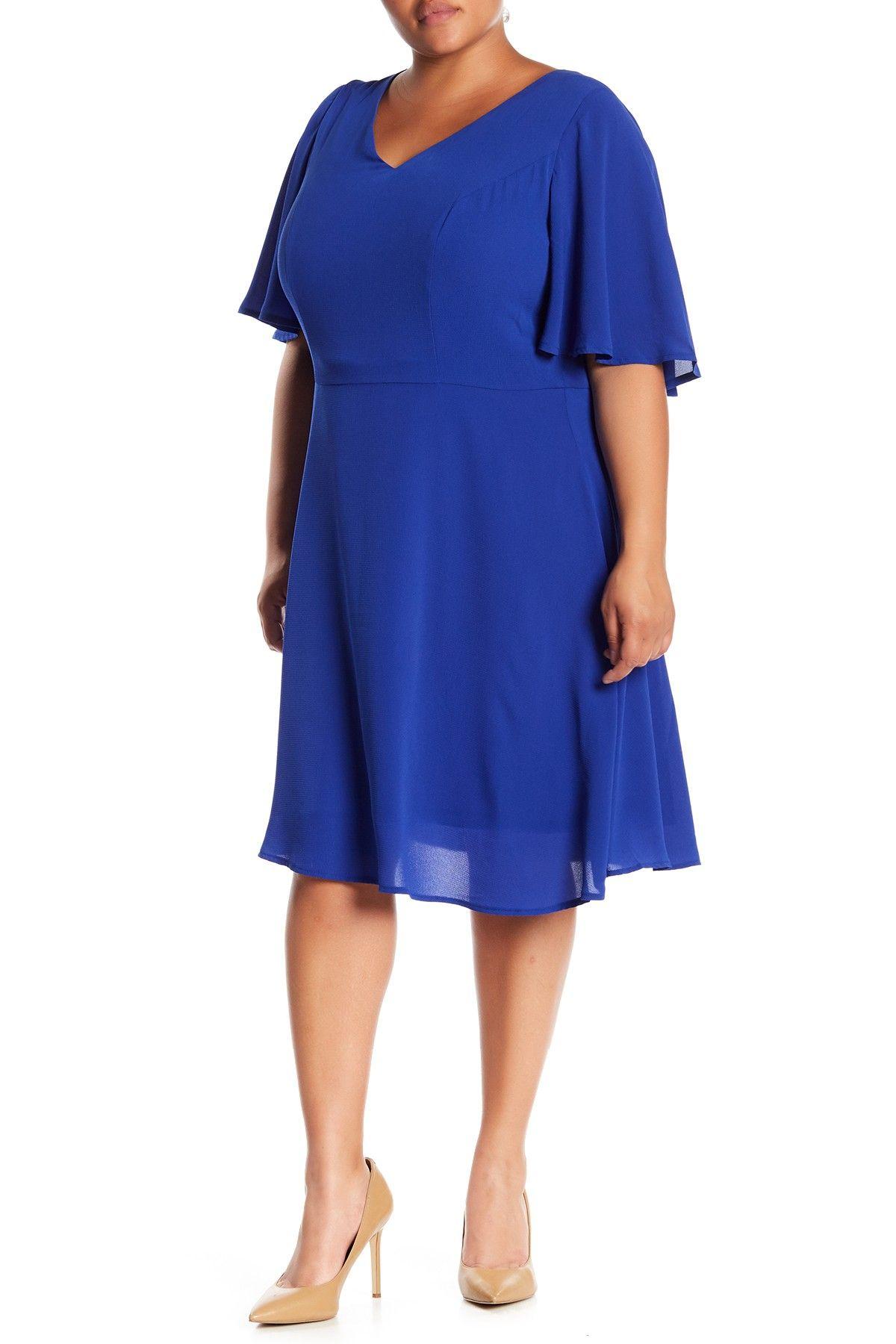 London Times Crepe Fit Flare Dress Plus Size Plus Size Outfits Fit Flare Dress Plus Size Dresses