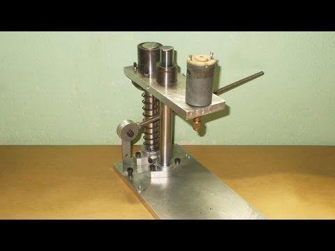 Homemade Mini Press Drill DIY PCB Hand Drilling Machine Machine Wood