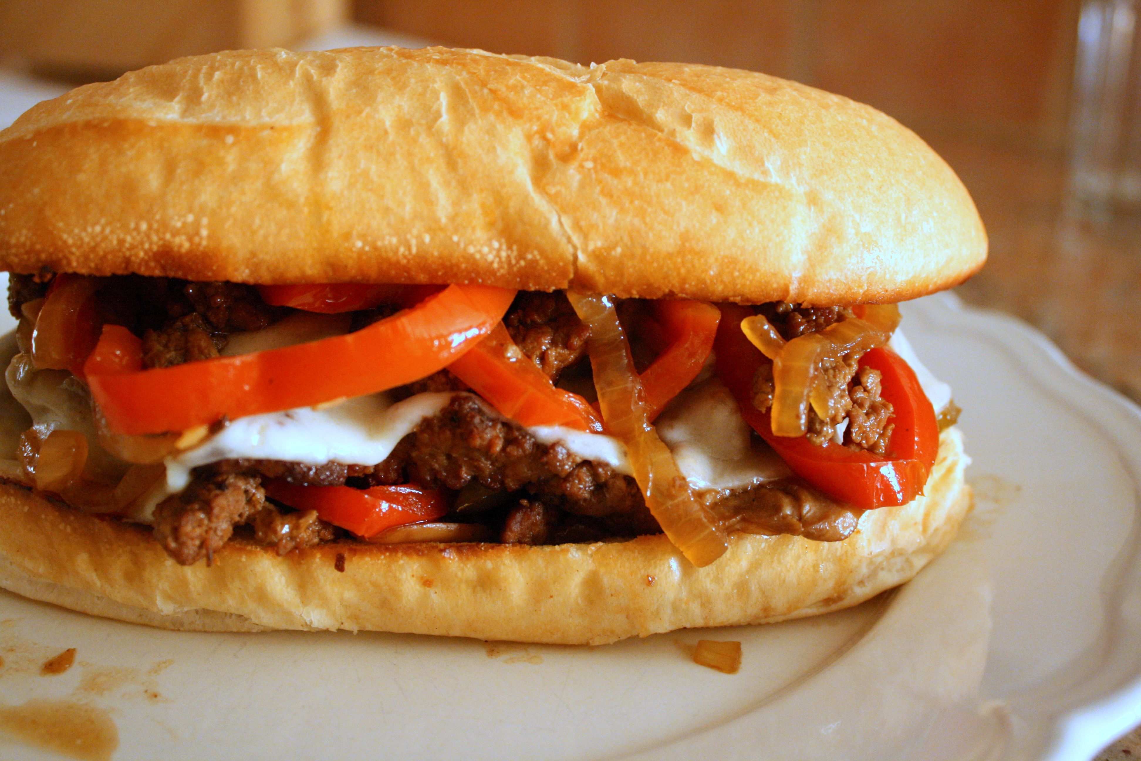 steak sandwich that'll make you slap yo' mama