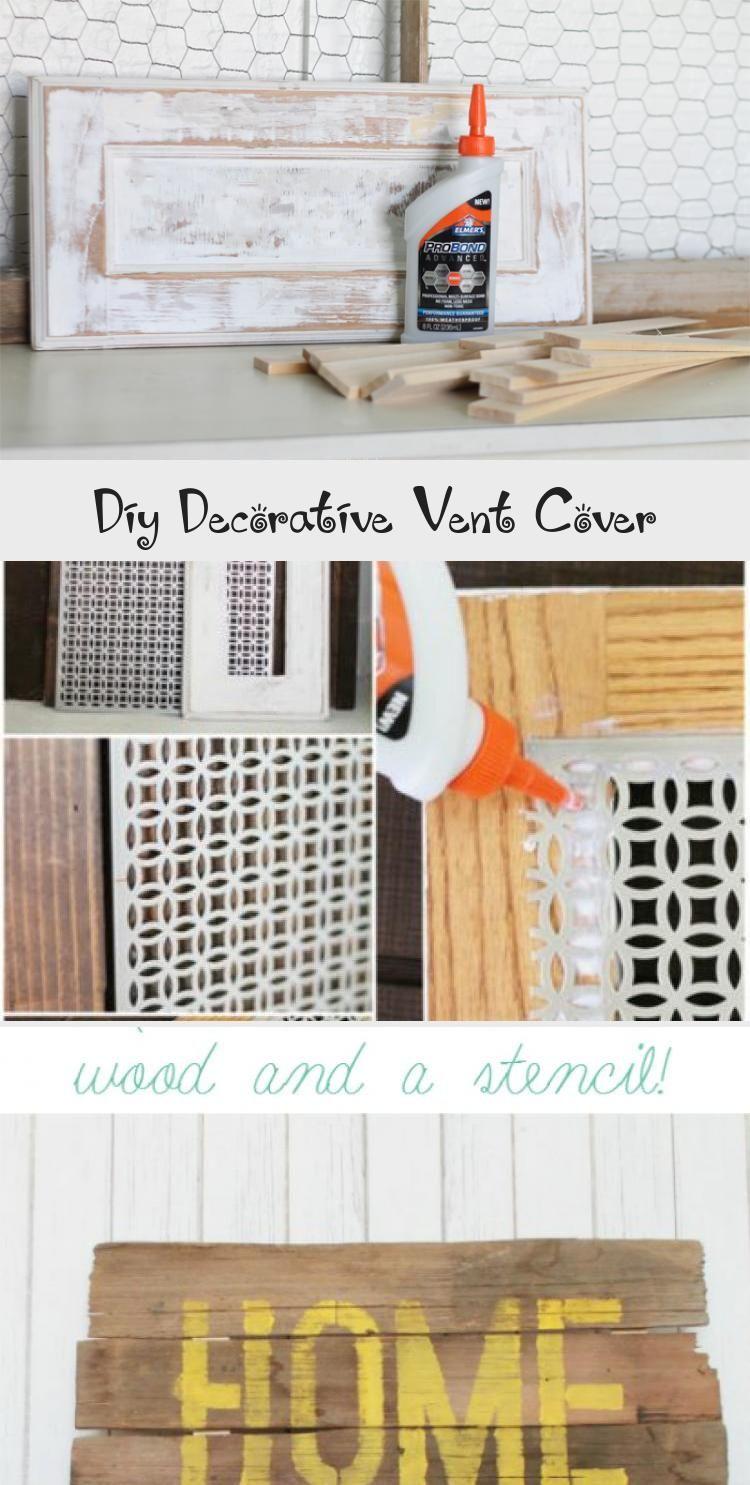 Diy Decorative Vent Cover Vent Covers Diy Home Improvement