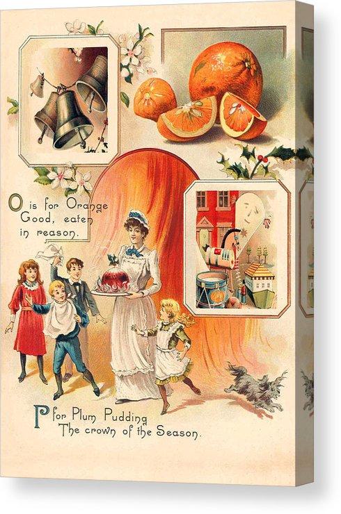Plum Pudding Canvas Print