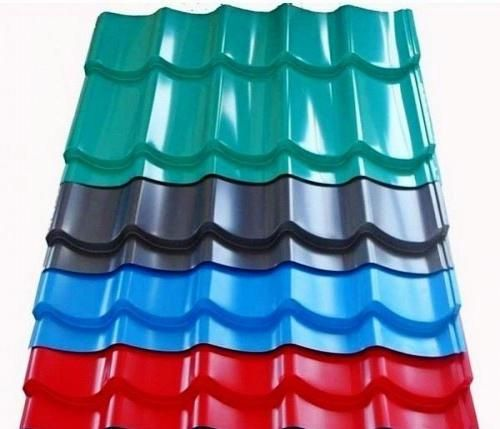 Pre Painted Corrugated Steelsheets Corrugated Metal Roof Metal Roof Roofing Sheets
