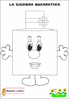 A Scuola con Poldo: La signora Quadratina   για την ταξη   Pinterest ...
