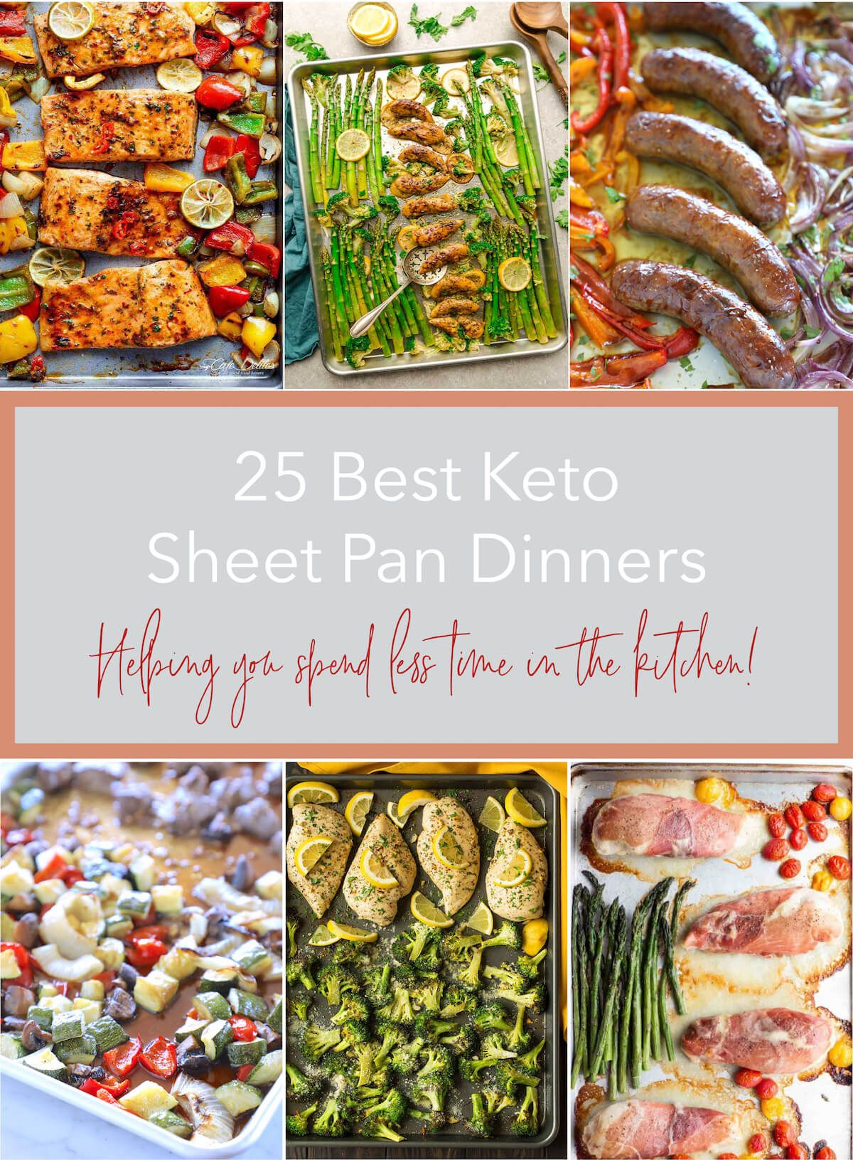 25 Best Keto Sheet Pan Dinners - Low Carb   I Breathe I'm Hungry
