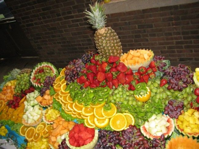 Fruit Display Ideas For Weddings | Photo Gallery - Fruit Galore ...
