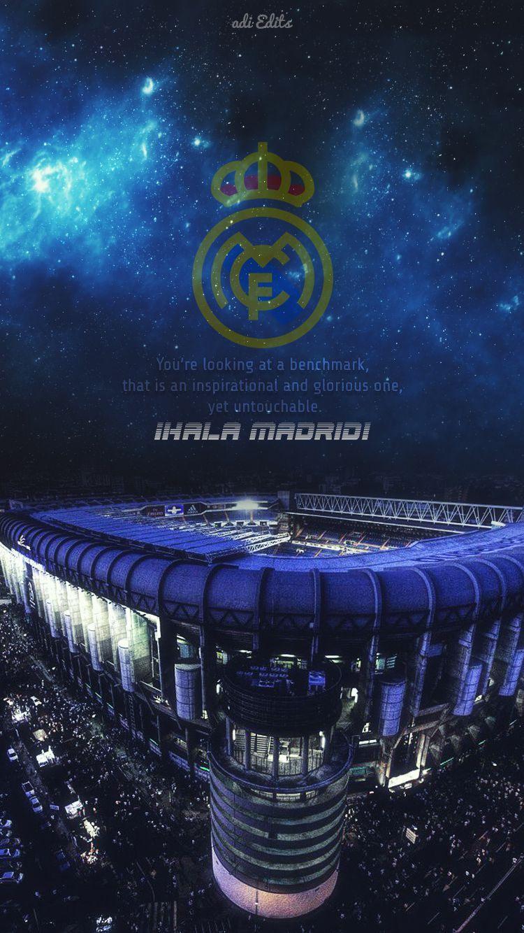 Lock Screen Real Madrid Wallpaper Iphone Di 2020 Bola Kaki Pahlawan Super Sepak Bola
