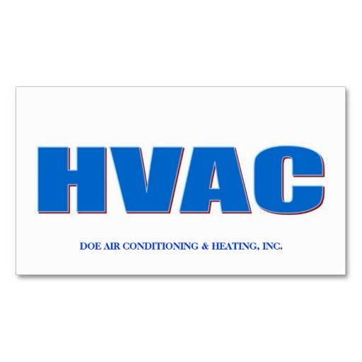 Hvac technician bold cool blue business card hvac technician hvac technician bold cool blue business card template friedricerecipe Gallery