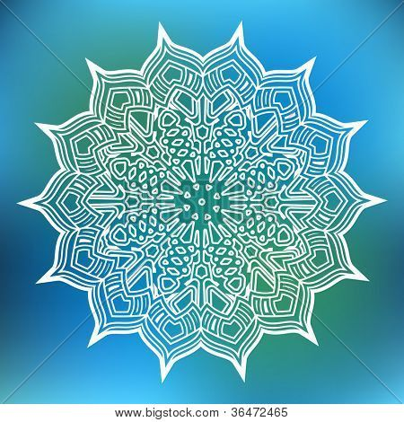 lacy moroccan flower snowflake | moroccan | pinterest | moroccan
