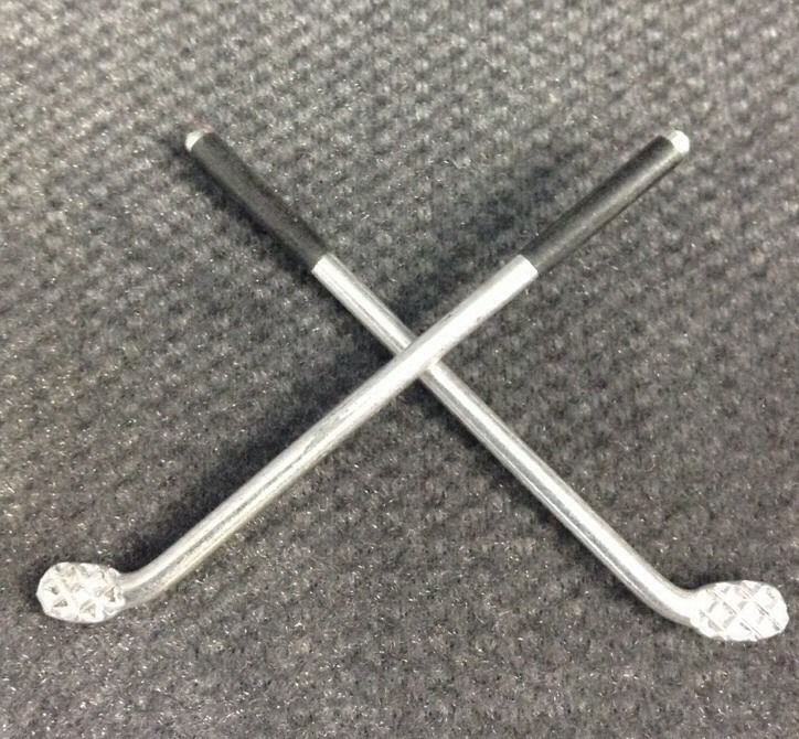 Golf Theme Party Favor Decor Small Metal 3.75 Inches Set Of 190 Clubs