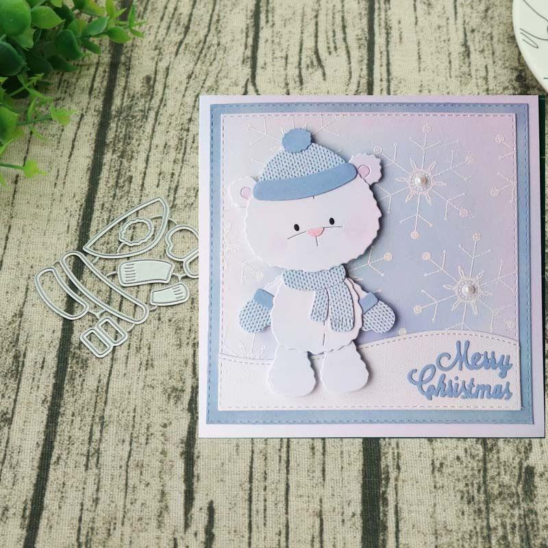 Metal Cutting Dies Christmas Santa Scrapbook Paper Craft Mold Emboosing Stencil