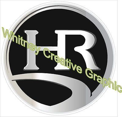 Details About Holiday Rambler Rv Logo Lettering Decal Graphic Black 6 Inch Diameter Lettering Decals Ebay