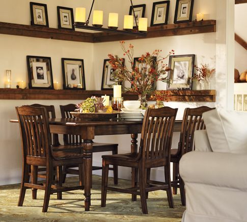 Potterybarn Dining Room Table And Chairs