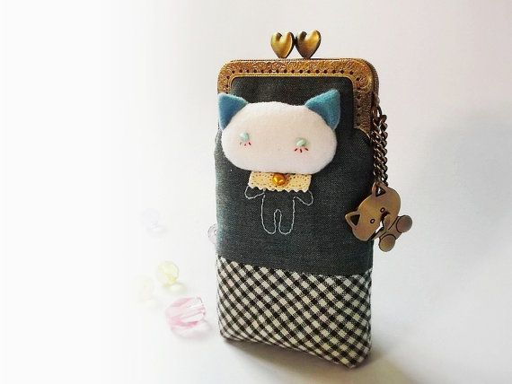 Cell phone case Cat cell phone case iPhone case by DooDesign, $30.90