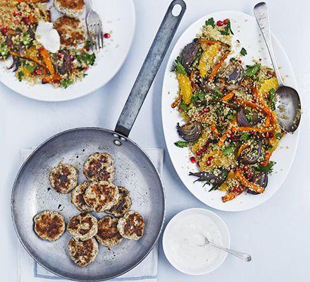 heerlijke gekruide gerechten (o.a. met quinoa)