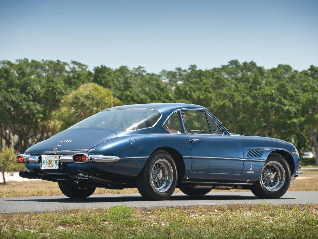 Ferrari 400 Superamerica Passo Corto Coupé Aerodinamico (fari coperti) '1961–62