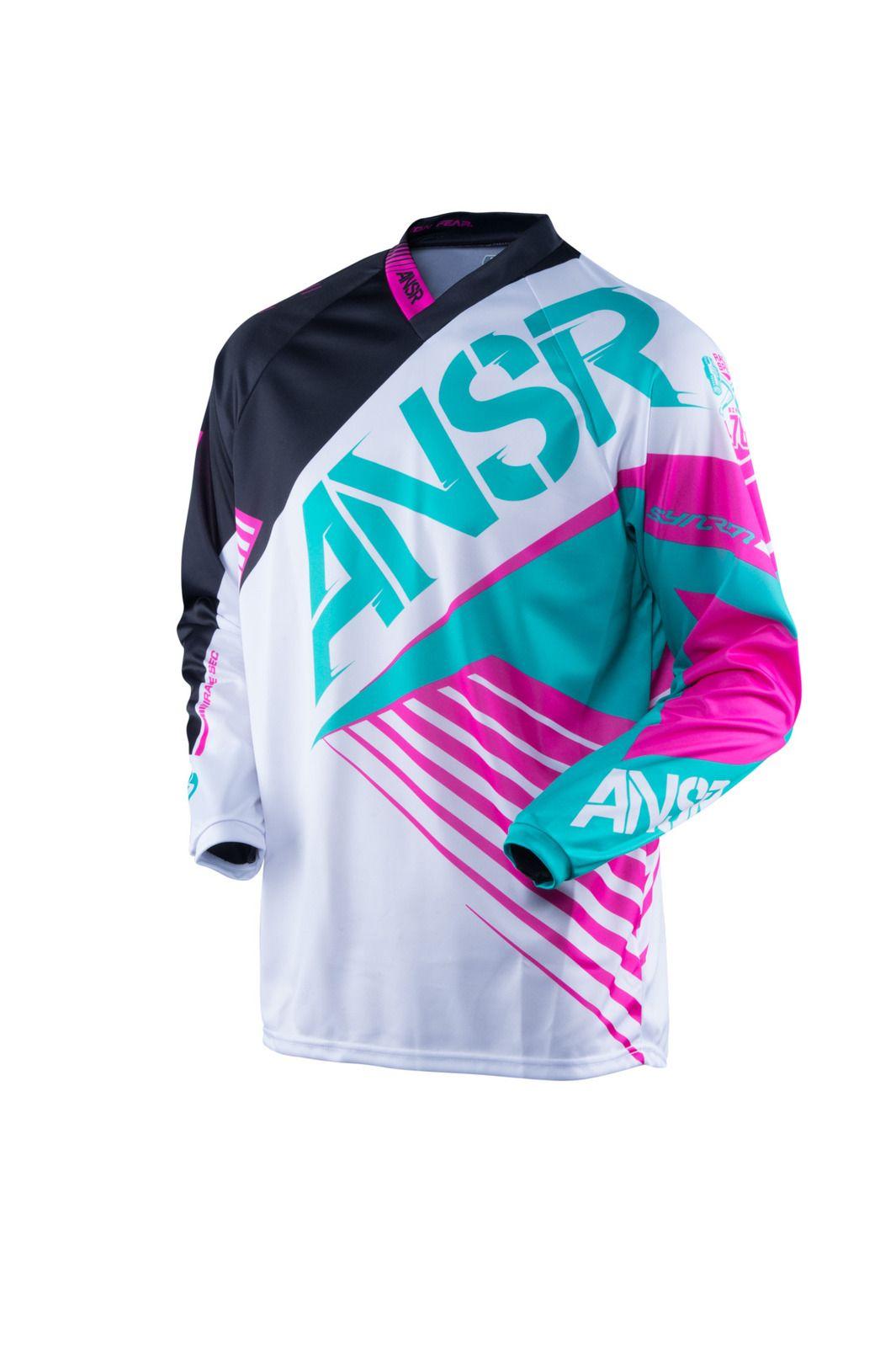 Answer 2016 Syncron White/Teal Kids Jersey Motocross