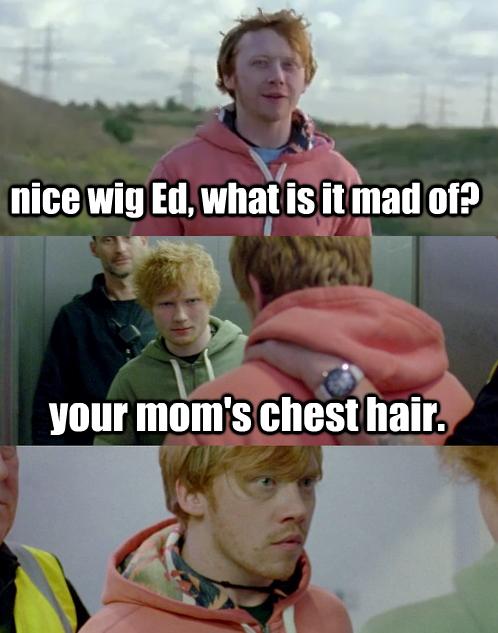 Love Ed And Rupert Harry Potter Funny Jokes Harry Potter Fantastic Beasts