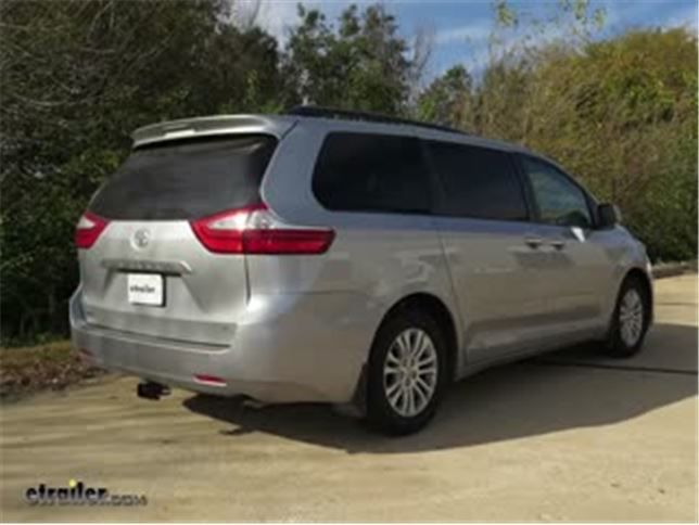 2017 Toyota Sienna Trailer Hitch Draw E