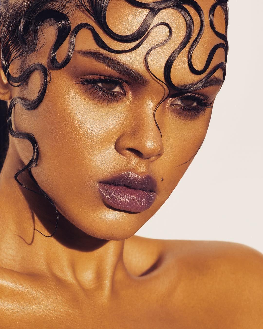 "jilkos: ""Julyana Soares by Arron Dunworth Hair by Regina Meessen Makeup by Georgina Day """