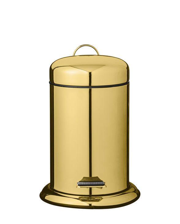 Storefactory Kerzenhalter Lidatorp Beige Gold Bad Badezimmer Mulleimer Badezimmer Accessoires