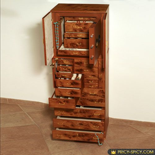 Locked Jewelry Armoire Dreams Pinterest Armoires Jewellery