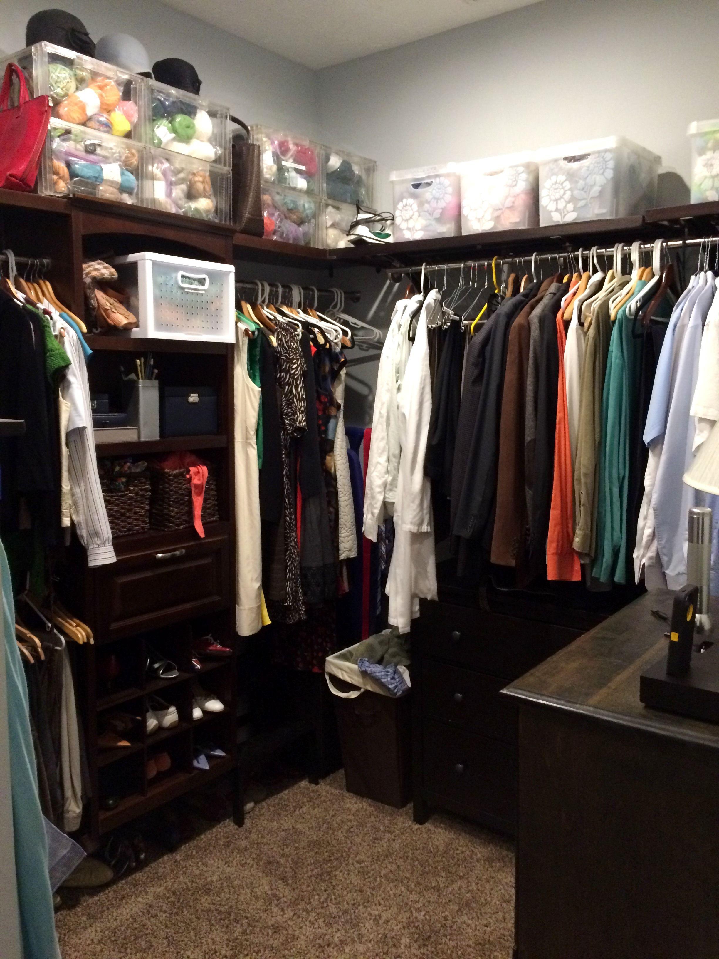Simple Closet Organization Diy Walk In