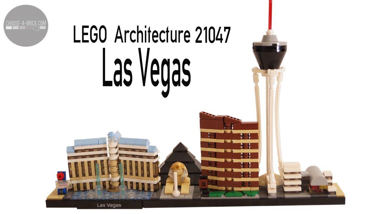 Lego 21047 Las Vegas Architecture Speed Build