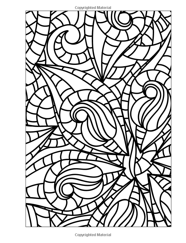 Adult Coloring Book Stress Relieving Patterns Blue Star 9781941325124 Amazon