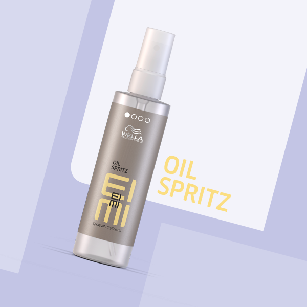 Our Eimi Oil Spritz Is A Lightweight Sprayable Oil That Gives Your Hair Natural Shine Fights Statics And Offers Uv Protecti Spritz Salt Spray Damp Hair Styles
