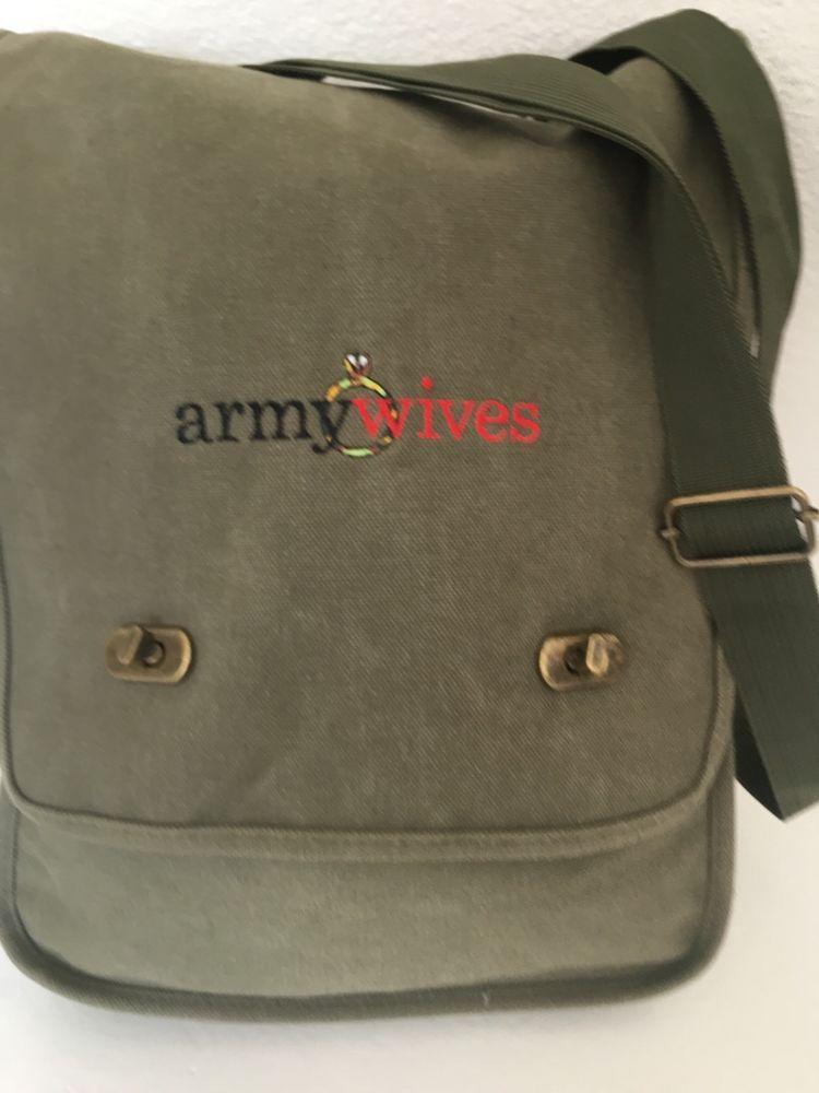 Army Wives Messenger Crossbody Bang D Signer Fashion Hip Boho Patriotic