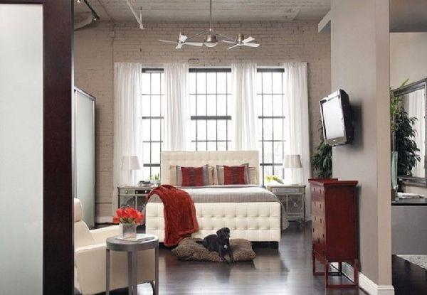 New York style loft Christmas Pinterest Apartment interior
