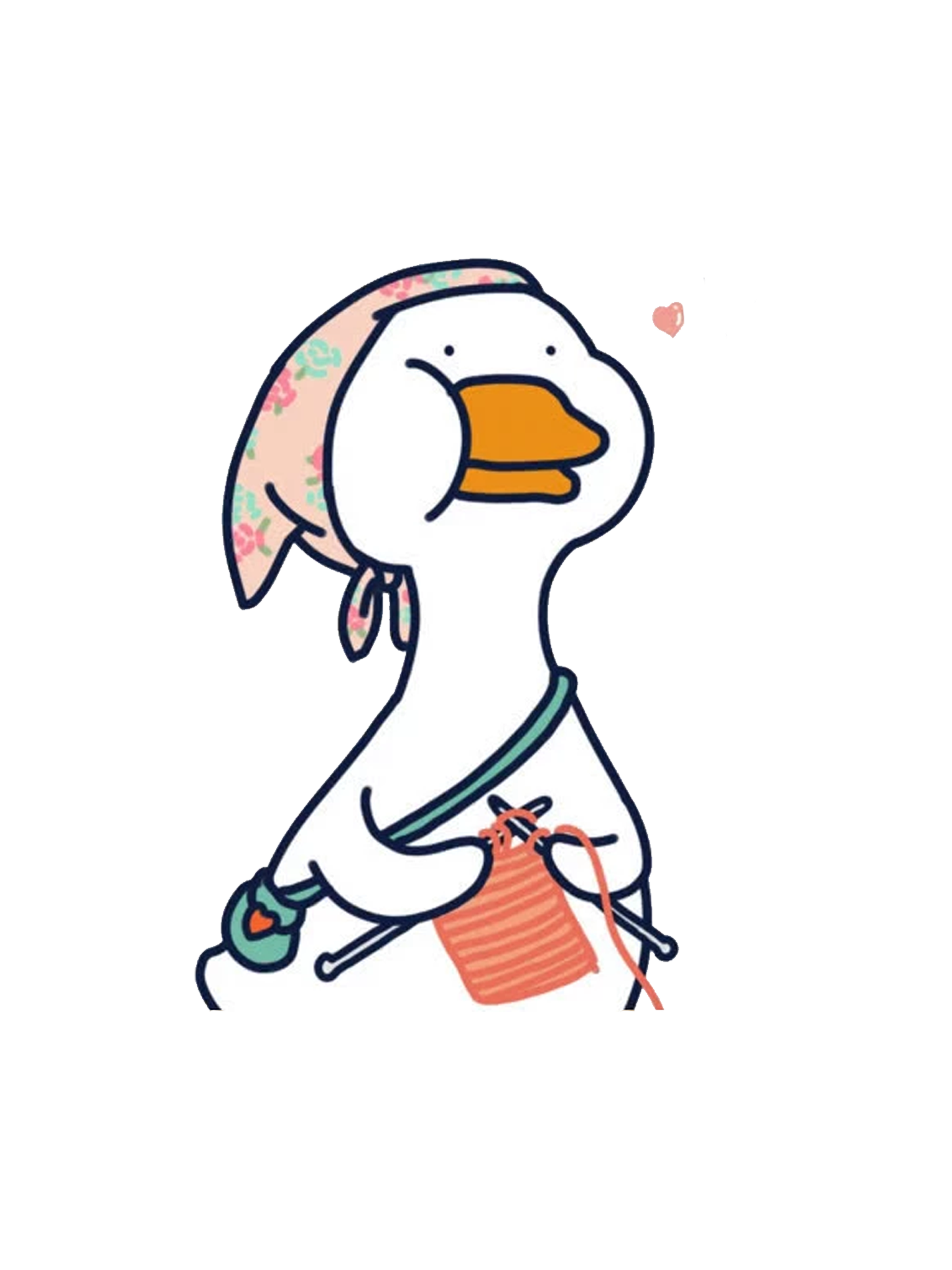 Untitled Goose Grandma Edition Sticker By Xiaokoong In