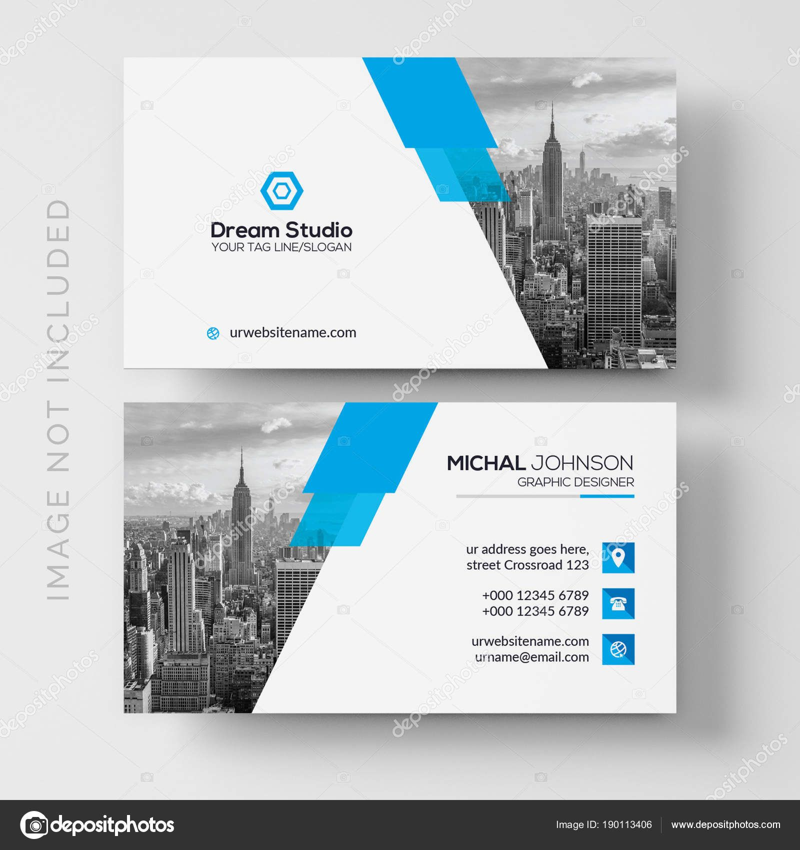 Download business card vector template stock illustration download business card vector template stock illustration reheart Gallery