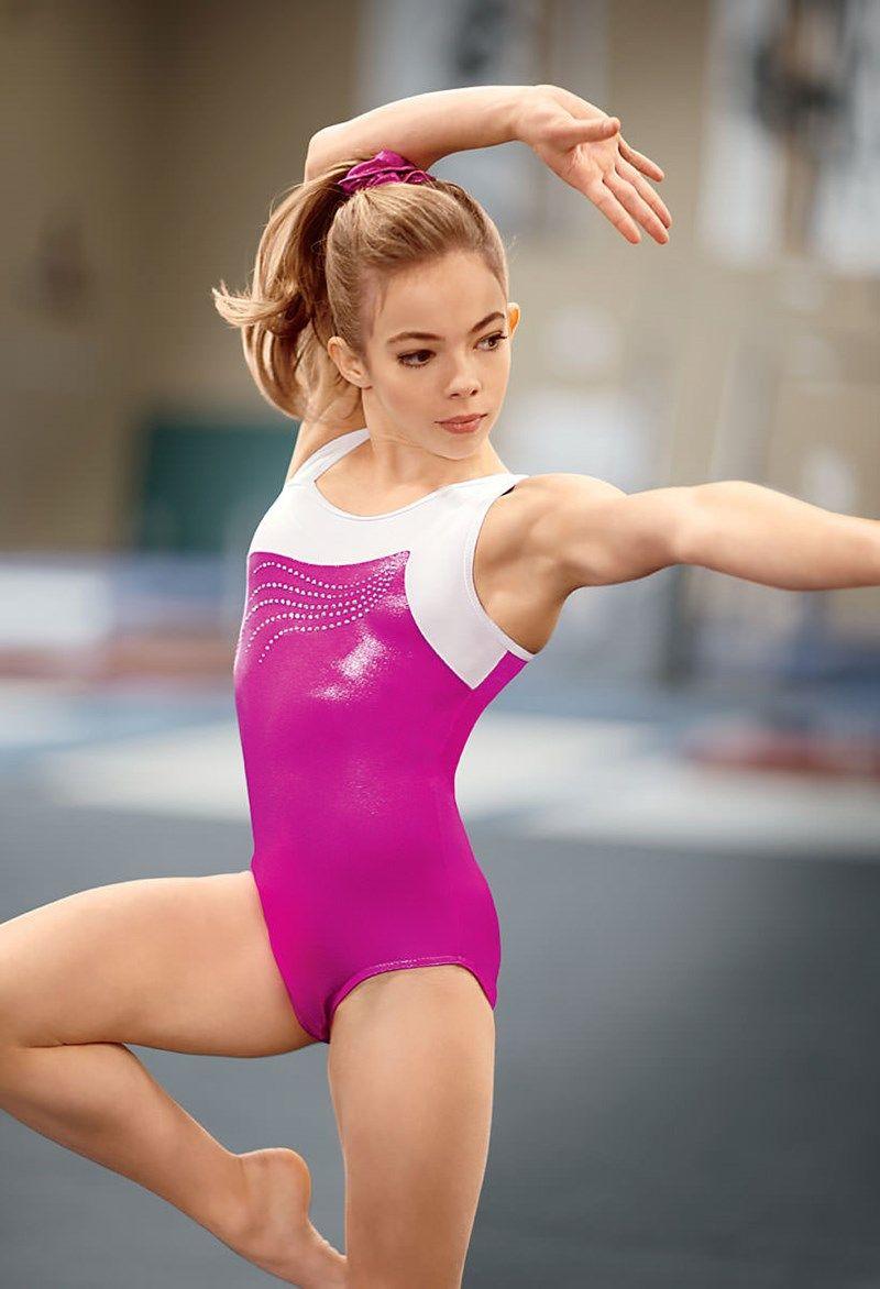 Flexible gymnast leotard high quality porn photo