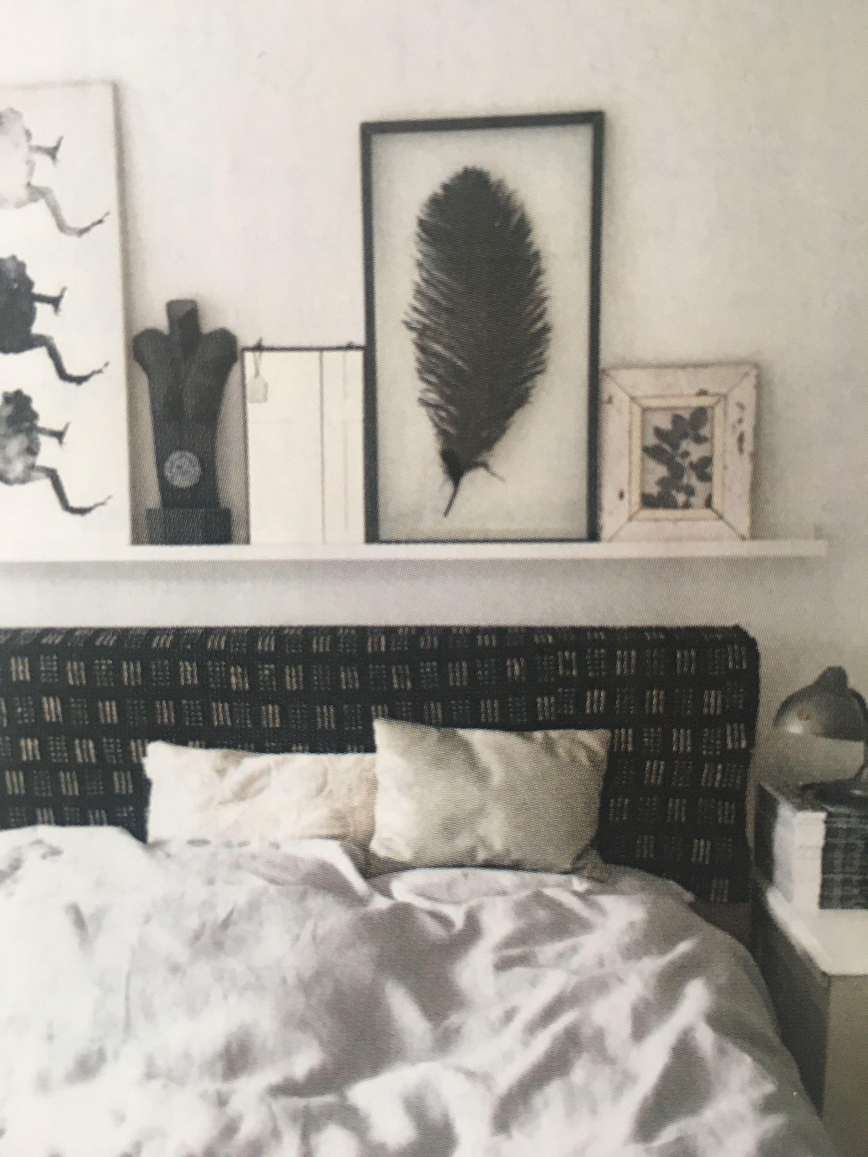 Zeer Plank boven bed | slaapkamer | Bed planken, Foto planken, Slaapkamer @YY28