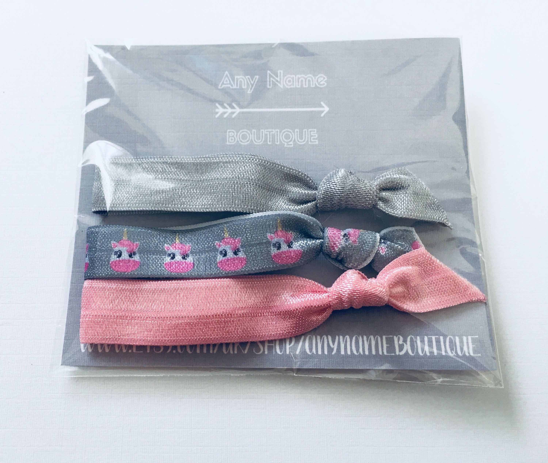 Unicorn hair ties 2a08251d89e