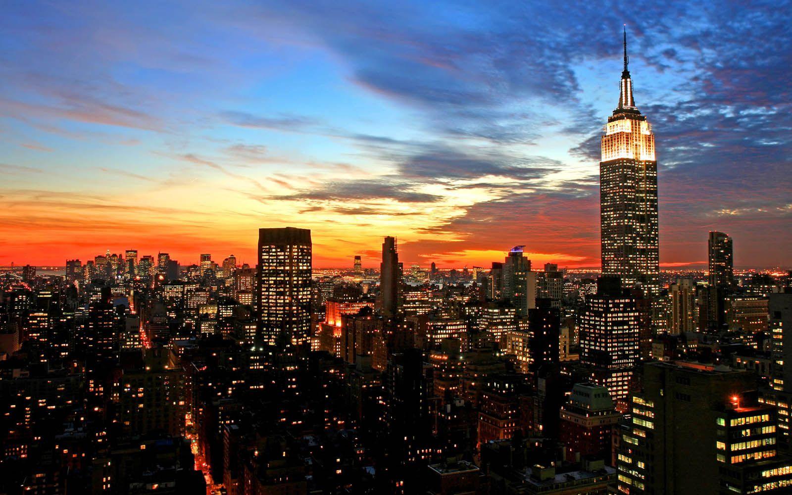 Epingle Par Johann Gognetti Sur Night City Fond D Ecran New York Photographie De Nuit Papier Peint Coucher De Soleil